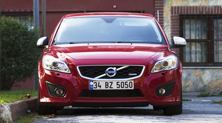 New Red Volvo Car