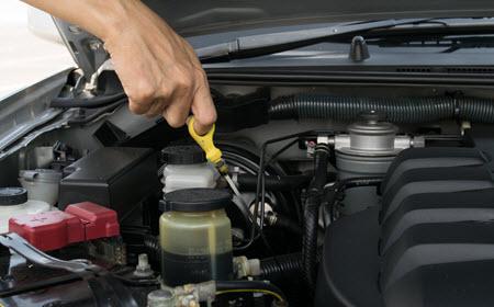Acura Engine Oil Check