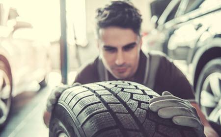 Infiniti Tire Change