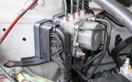 Jaguar Antilock Braking System Check