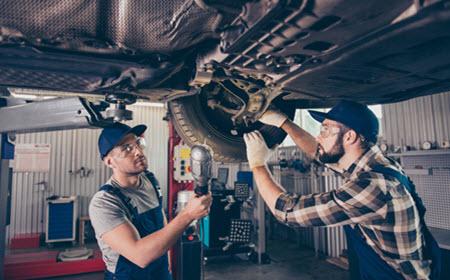 Porsche Broken Coil Spring Check