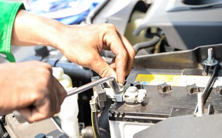 Jaguar Battery Replacement