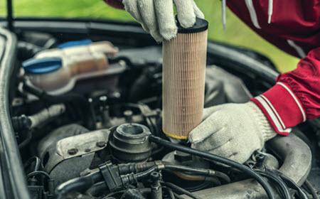 Infiniti Oil Filter Replacement
