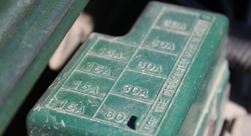 Volvo Fuse Box