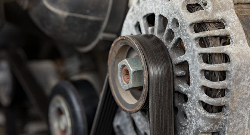 Land Rover Old Serpentine Belt