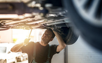 Volvo Transfer Case Inspection