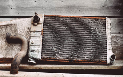 Jaguar Old Radiator Check